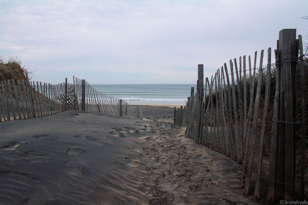 Strand von Block Island