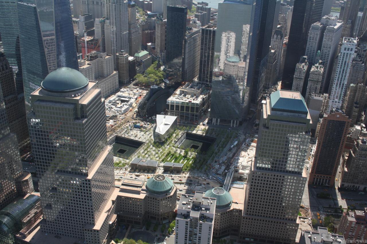 Hier stand mal das alte World Trade Center