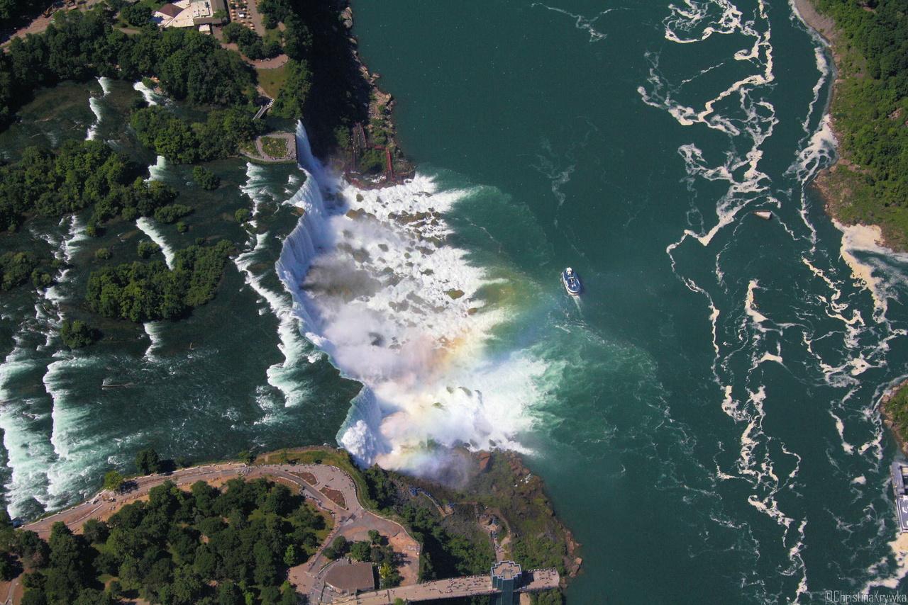 "Die ""American Falls"" der Niagarafälle sind eigentlich nur so la la"