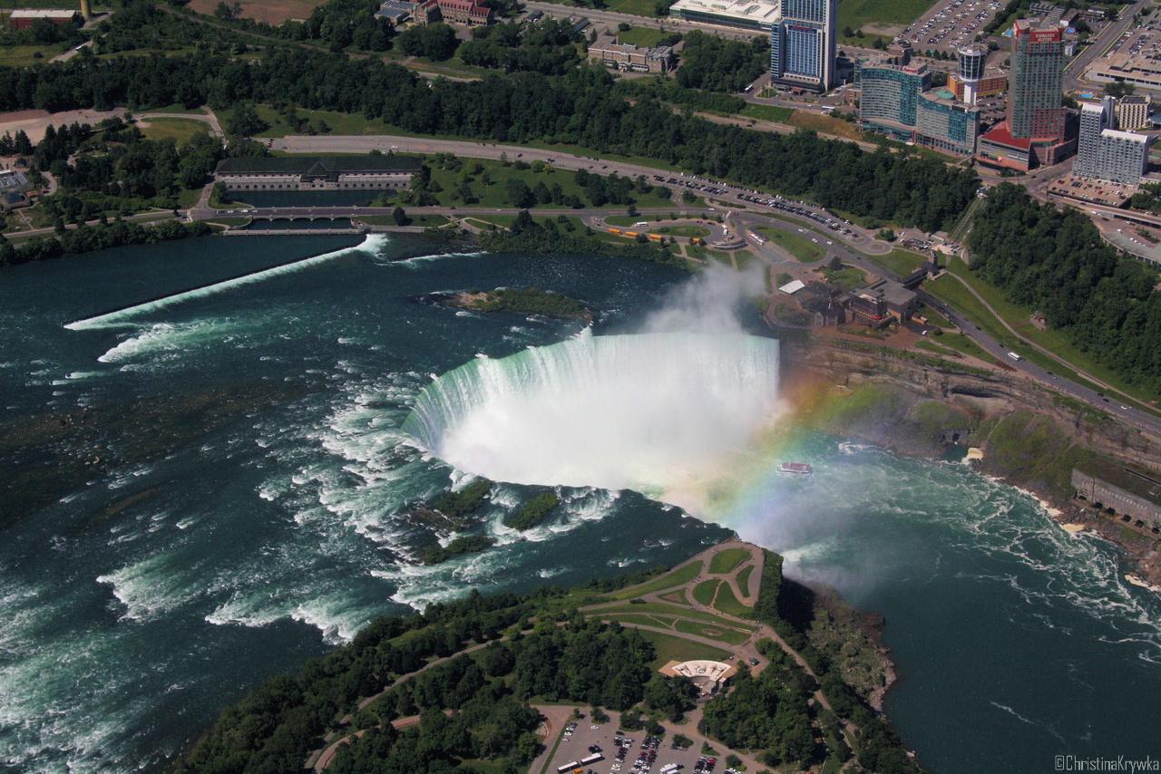 """Die """"Horseshoe Falls"""" auf der Kanadischen Seite sind das wahre Highlight"""